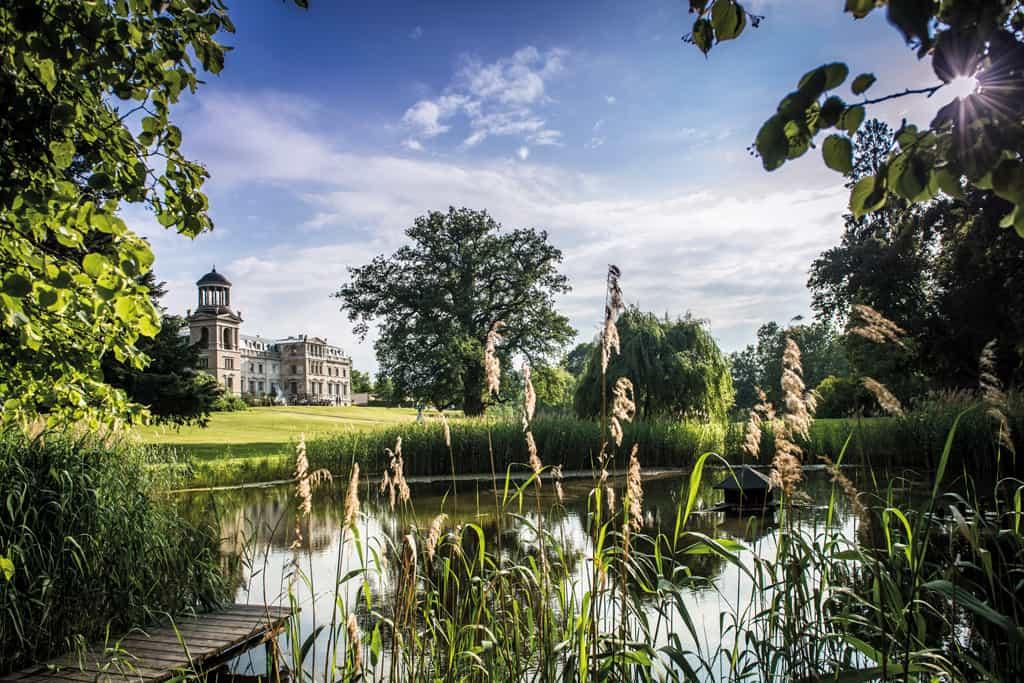 Schloss mit Park Kaarz: Geadeltes Land