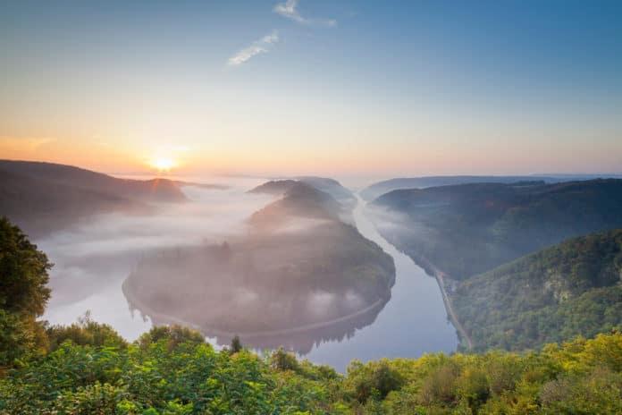 Die Saarschleife am frühen Morgen, © Eike Dubois TZS