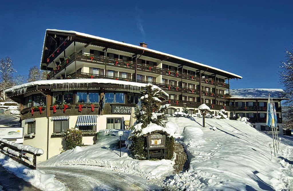 Kraft tanken im Alpenhotel Kronprinz Berchtesgaden