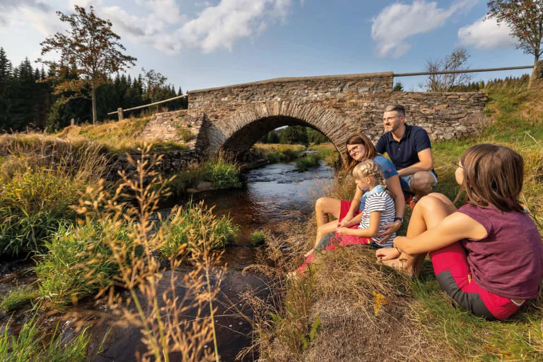 Naturidylle, Kulturgenuss und Familienzeit – pure Sommerfrische im Erzgebirge