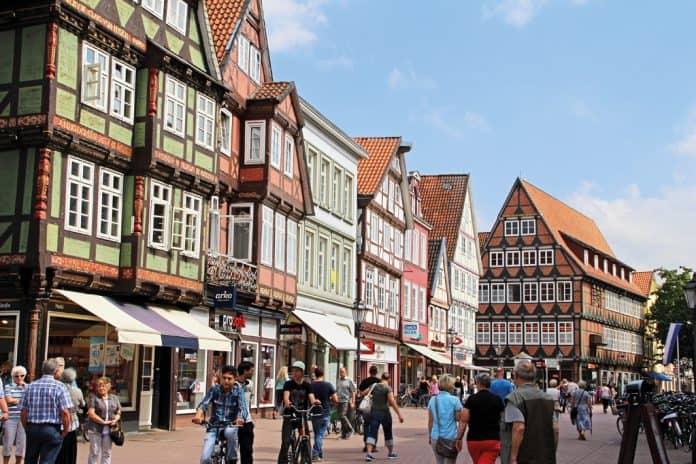 Der Fachwerk Markt in Celle