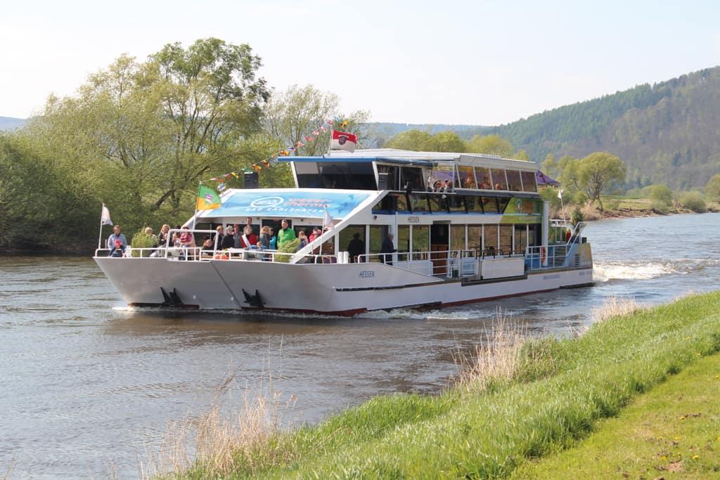 """Weserschiff """"Hessen""""/ Tourist Information Bad Karlshafen"""