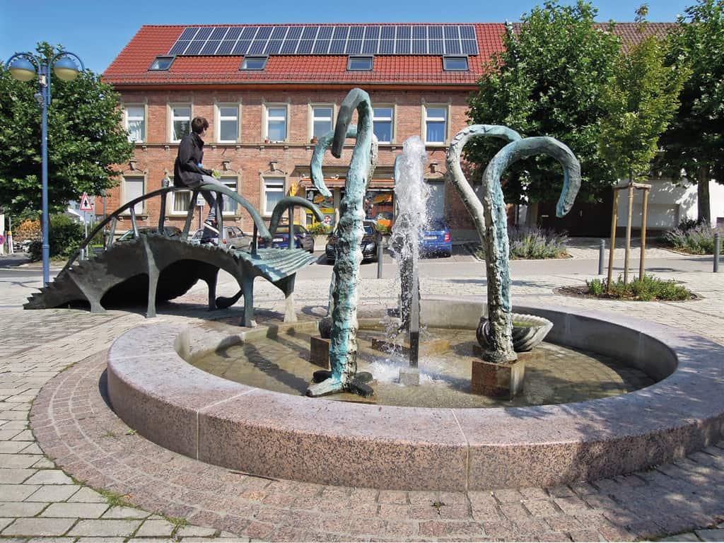 Stadtpark von Bad Schönborn, Foto: LoKiLeCh