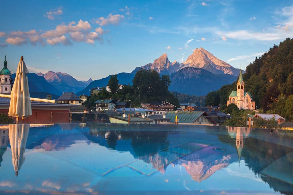 Das ****s Hotel Edelweiss in Berchtesgaden Das Freizeithotel mit Stadtcharakter