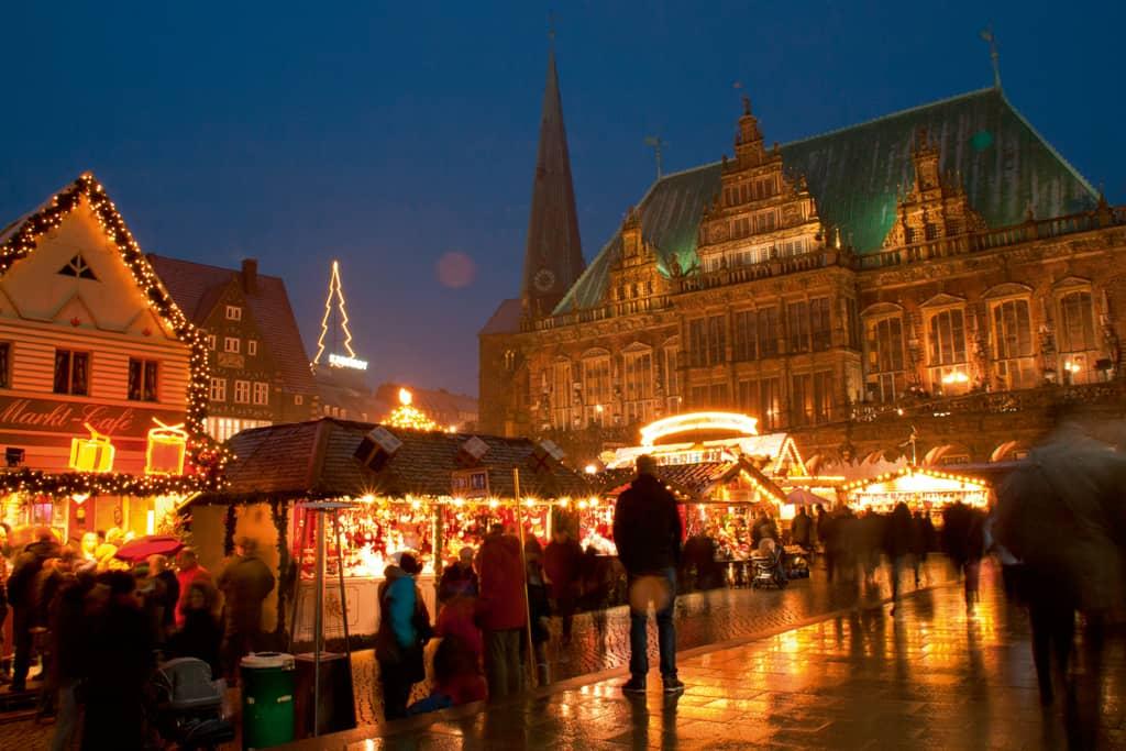 Bremer Weihnachtsmarkt - Marktplatz Copyright Carolin Hinz  BTZ Bremer Touristik-Zentrale
