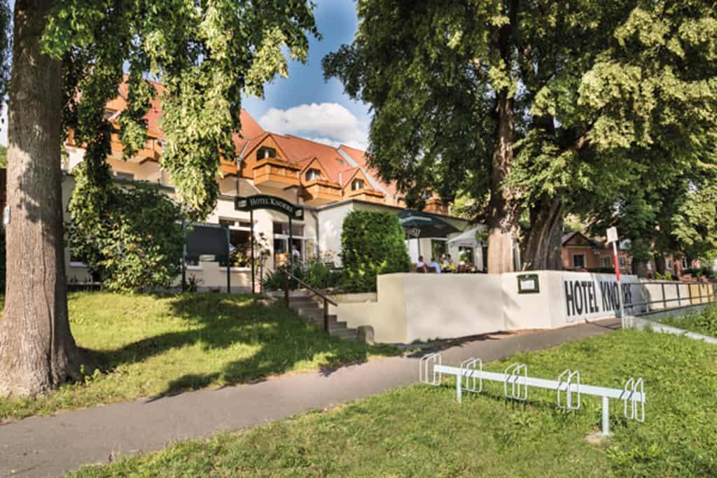 Hotel & Restaurant Knorre: Das Elbe-Schaufenster in Meißen
