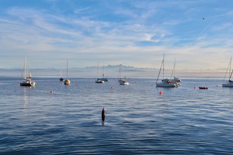 Mehr als ein  Sommerflirt:  Der Bodensee lockt zu jeder Jahreszeit an seine Ufer