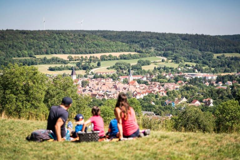 Wandern, Radfahren und Familie – willkommen in Berching!
