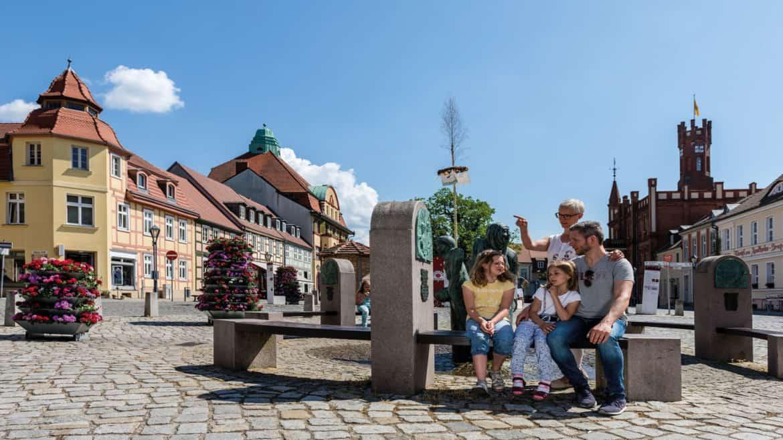 Kyritz an der Knatter: Altstadt erleben und Seeluft schnuppern