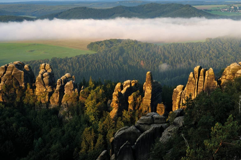 Der Malerweg Elbsandsteingebirge