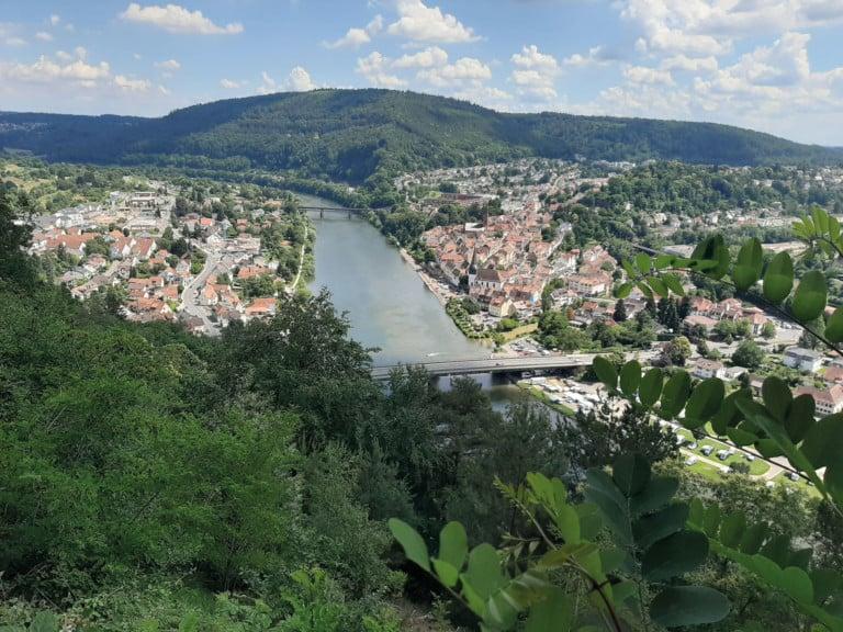 Neckargemünd: Rad- und Wanderparadies am Neckar
