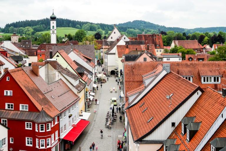 Allgäu, Auswahl der Städte. © Susanne Baade