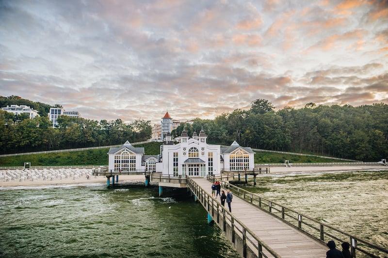 Seebrücke Sellin, Foto: Tourismuszentrale Rügen Christian Thiele