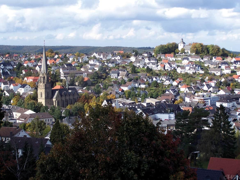 Stadt Warstein im Naturpark Arnsberger Wald